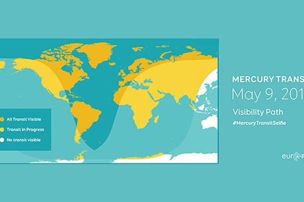 Mercury Transit MAP