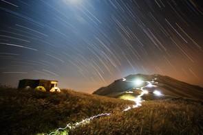 Sunset Peak Star Trail - Chap Him Wong (Hong Kong) - Winner: People & Space