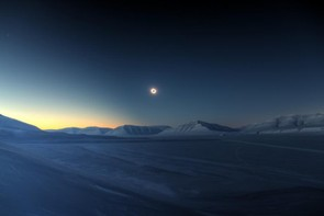 Eclipse Totality over Sassendalen - Luc Jamet (France) - Skyscapes Sponsored by Insight Investment Winner/Overall Winner