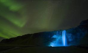 Seljalandsfoss Aurora © Paul Andrew