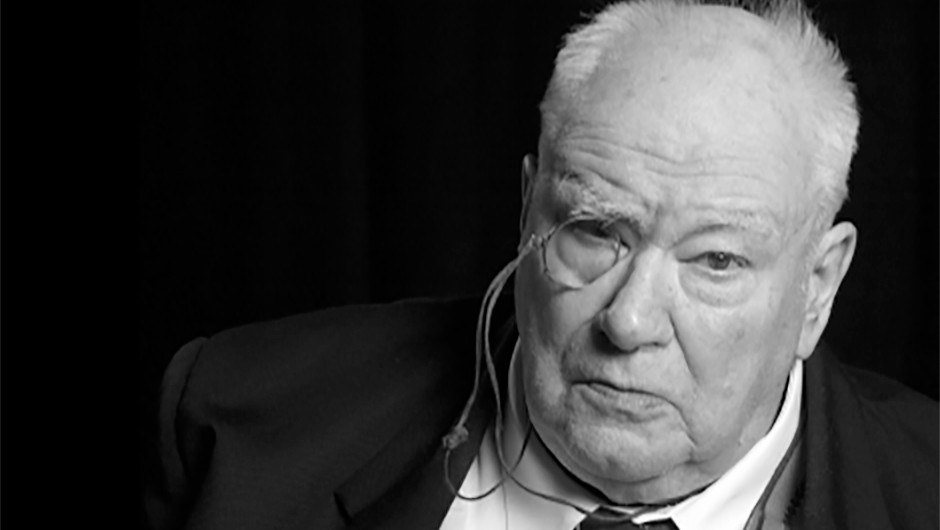 The late Sir Patrick Moore. Credit: BBC Sky at Night Magazine