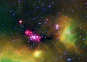 The Serpens star-forming region: NASA/JPL-Caltech/L. Cieza (University of Texas at Austin)