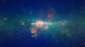 The centre of our galaxy: NASA/JPL-Caltech