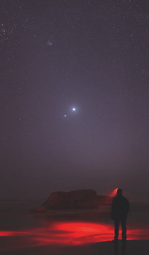 People and Space winner. Venus and Jupiter in close conjunction: Laurent Laveder
