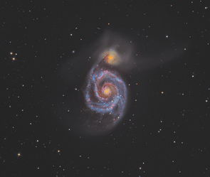 Overall winner and Deep Space winner. M51, the Whirlpool Galaxy: Martin Pugh