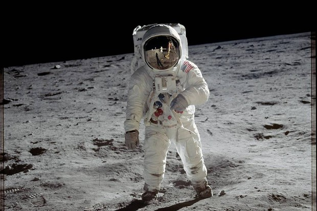 Buzz Aldrin pictured on the surface of the Moon during the Apollo 11 mission. Credit: NASA