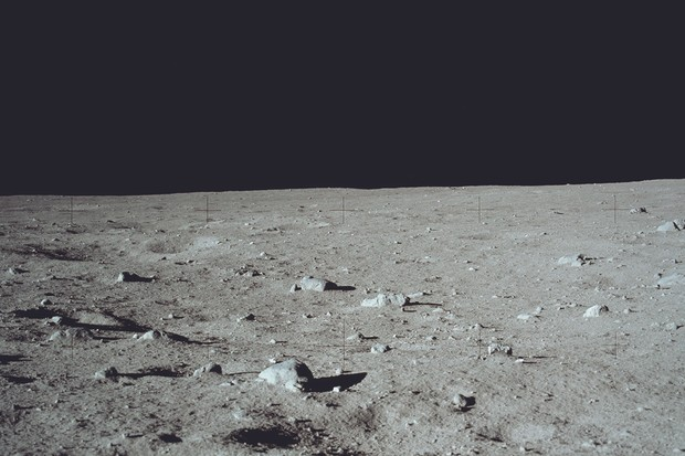 Samples collected from rocky areas of the Apollo 11 landing site like this laid the basis for much of what we know about the Moon. Credit: NASA