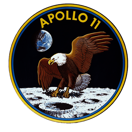 Apollo 11 mission patch Credit NASA