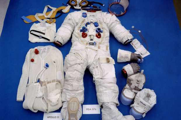 Neil Armstrong's flown spacesuit. Credit: NASA