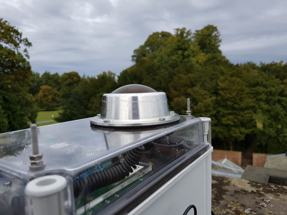 A fireball camera installed at Newby Hall in Ripon, North Yorkshire. Credit: UK Fireball Network and the Global Fireball Observatory