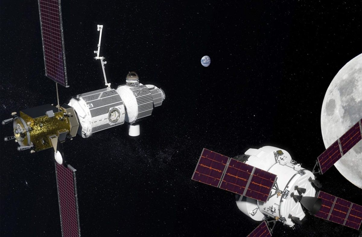 A new era of space exploration will see the Lunar Orbital Platform-Gateway used as a hub. Credit: NASA