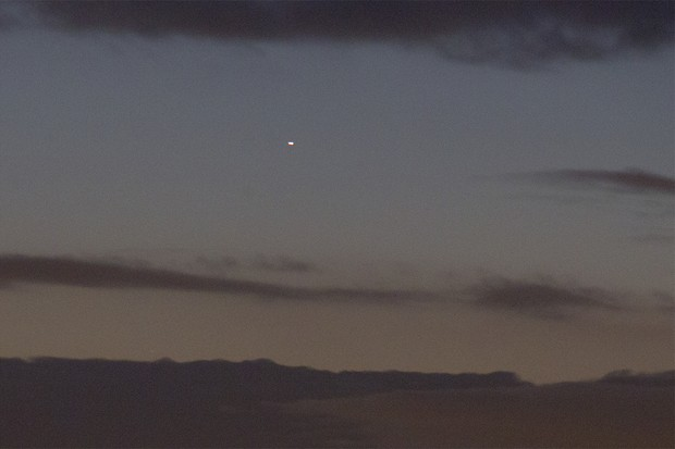 The planet Mercury will get brighter and easier to see in the morning sky throughout August 2019. Credit: Pete Lawrence