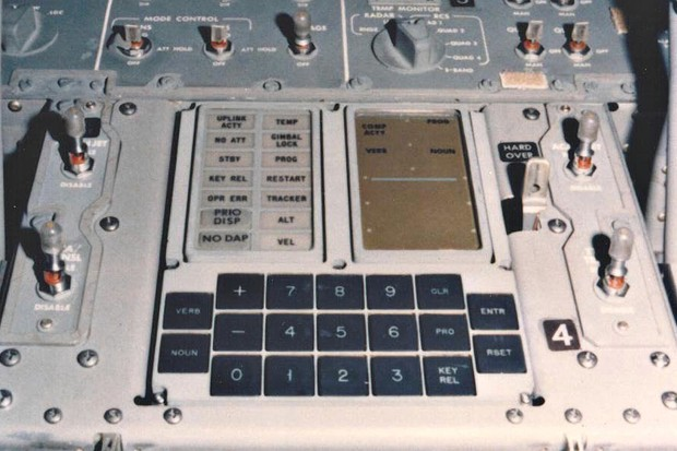 The Apollo Guidance Computer delivered astronauts safely to the lunar surface. Credit: NASA