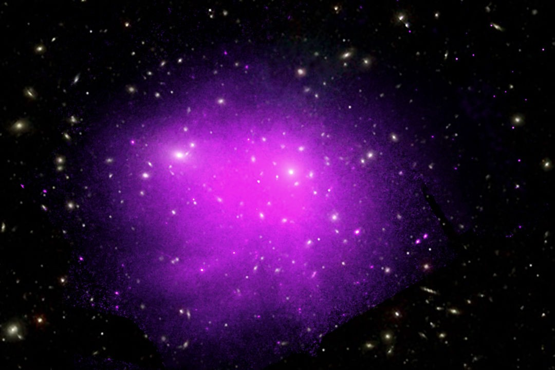 Hot gas in the Coma galaxy cluster NASA's Chandra X-ray Observatory, 18 June 2019 Image credit: X-ray: NASA/CXC/Univ. of Chicago, I. Zhuravleva et al, Optical: SDSS