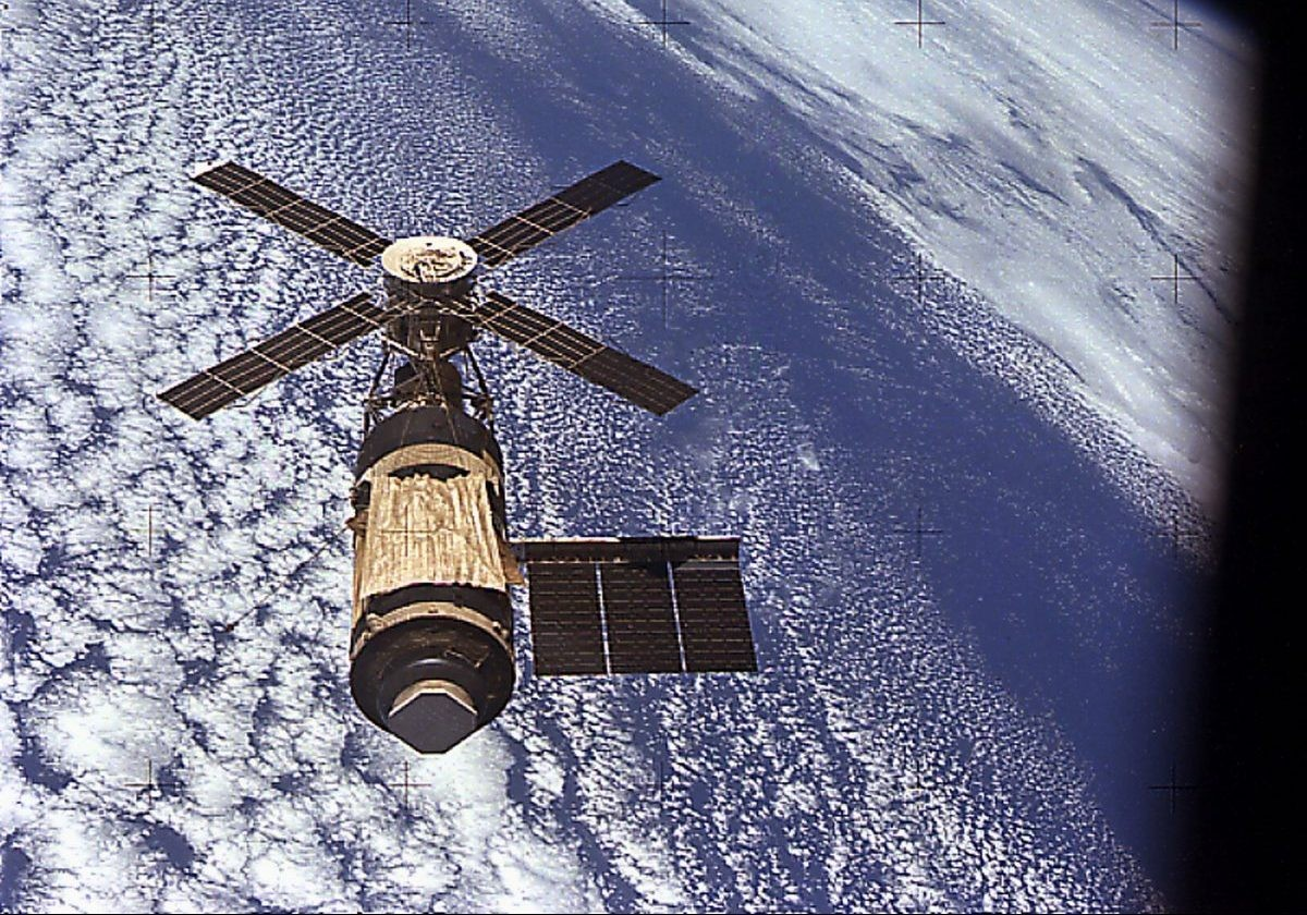 Skylab was one of the few missions planned to follow on from the success of Apollo that actually came to fruition. Credit: NASA