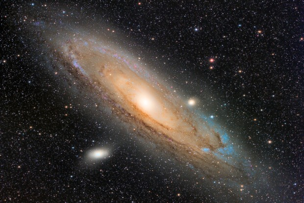 This image of the Andromeda Galaxy, M31, shows you the quality and detail that can be achieved with a CMOS camera. Credit Gary Palmer