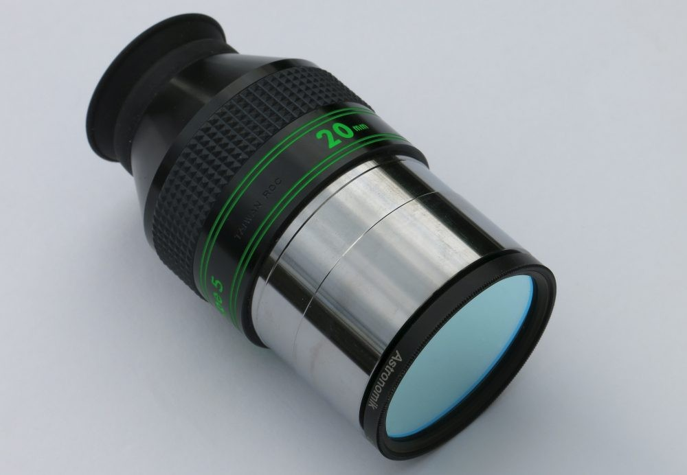 The Astronomik 2-inch OIII filter. Credit: Martin Lewis