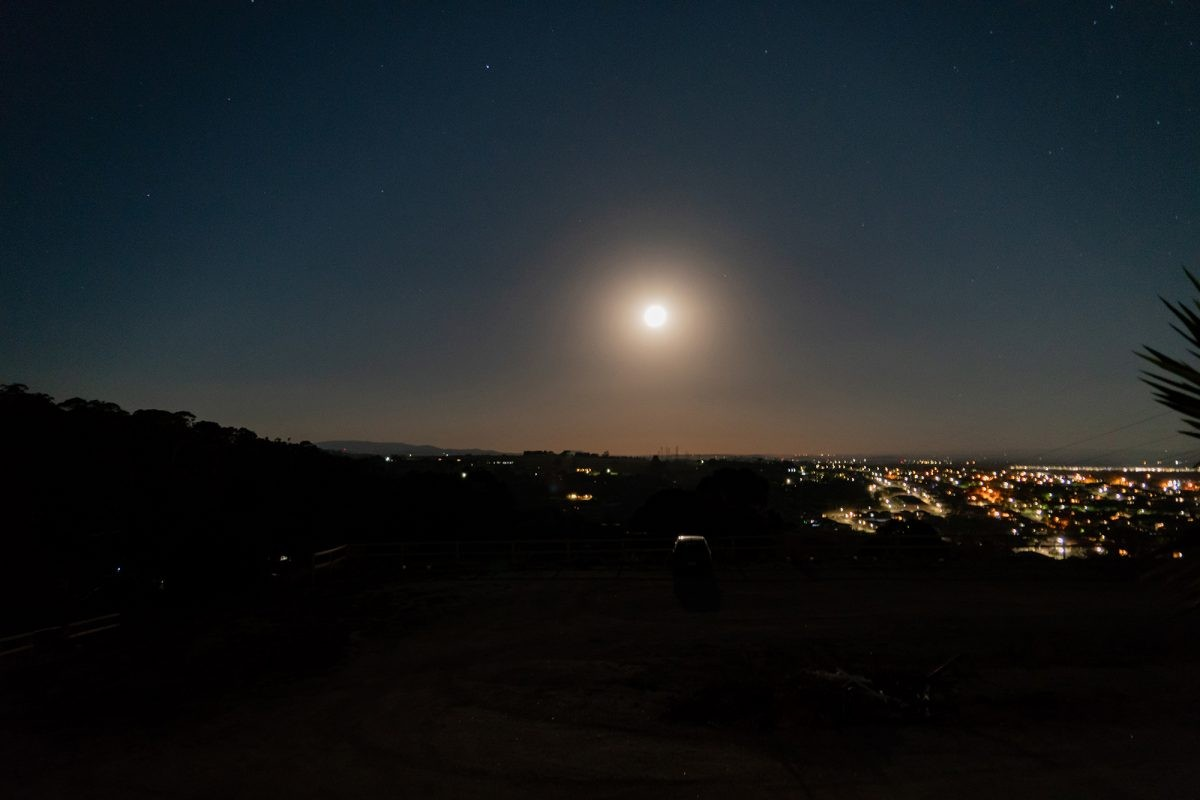 Don't underestimate the light-polluting effect of the full Moon's brightness. Credit: HADI ZAHER/istock/getty images