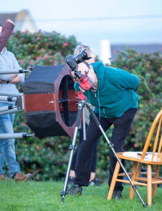 Aperture fever takes hold at Skellig Star Party 2019. Credit: Roy Stewart