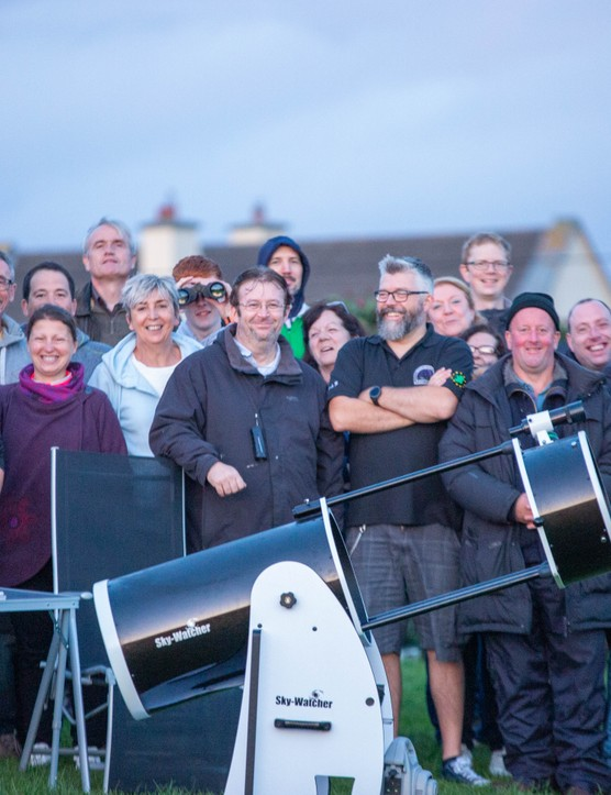 Some of the astronomers who attended Skellig Star Party 2019. Credit: Roy Stewart