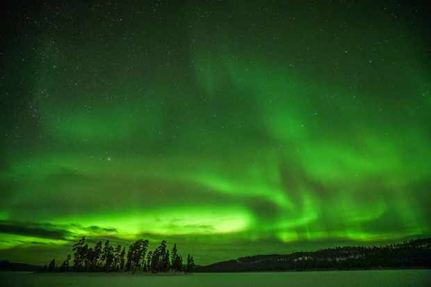 Aurora imaged over Inari, Finland. Credit: Yuichi Yokota / EyeEm / GettyImages