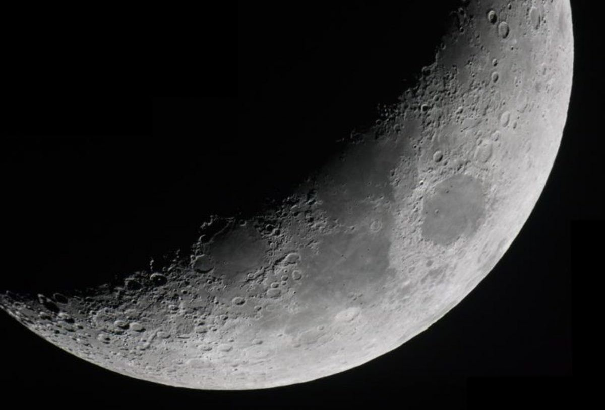 Lilian Hobbs' image of the Moon. Find out how to capture your own astrophotos at Hobbs' workshop. Credit: Lilian Hobbs
