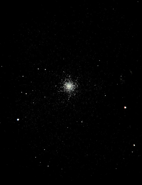 M13 taken with NightCap. Stars mode, 30.05 second exposure, 1/3s shutter speed. Credit: Paul Money