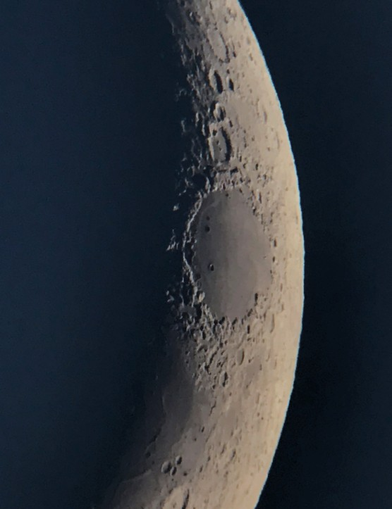 Mare Crisium taken with NightCap. Credit: Paul Money