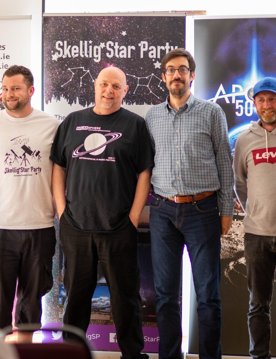 The speakers at Skellig Star Party 2019. Credit: Roy Stewart