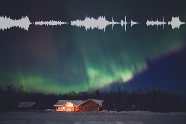 Capturing the sounds of the aurora. Credit: ThinkStock