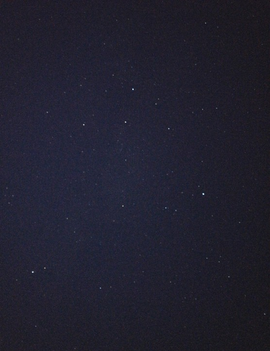 The Summer Triangle taken with NightCap. Long Exposure mode, 30.05 second exposure, 1/3s shutter speed. Credit: Paul Money
