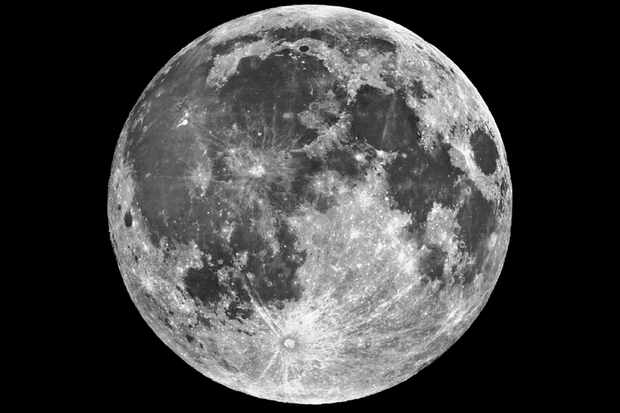 The Moon, as seen by the Lick Observatory. Credit: Lick Observatory