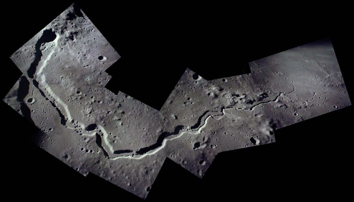 Vallis Schröteri, imaged during Apollo 15. Credit: NASA
