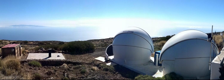 Slooh's Observatory. Credit: Slooh