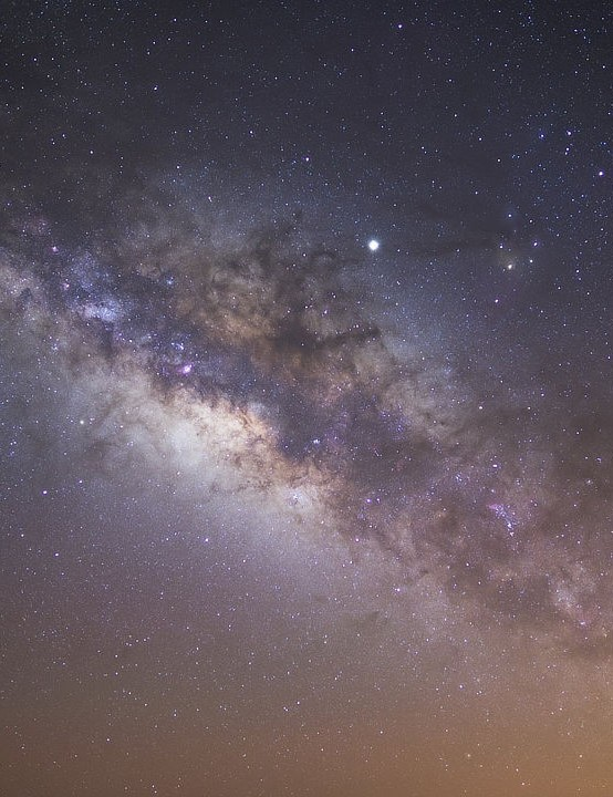 The Milky Way Ernie Holding, Mount Teide, Tenerife, 1 July 2019. Equipment: Nikon Z6 camera, Tokina 24-70mm lens
