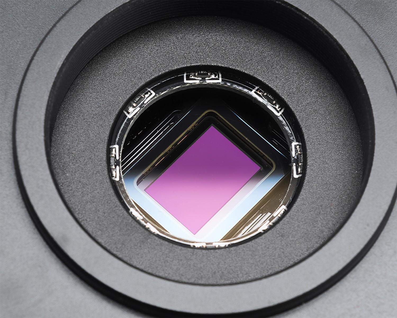 Altair Astro Hypercam 183M Pro Tec 4GB mono CMOS sensor. Credit: BBC Sky at Night Magazine