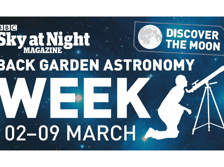 Discover the Moon with Back Garden Astronomy Week