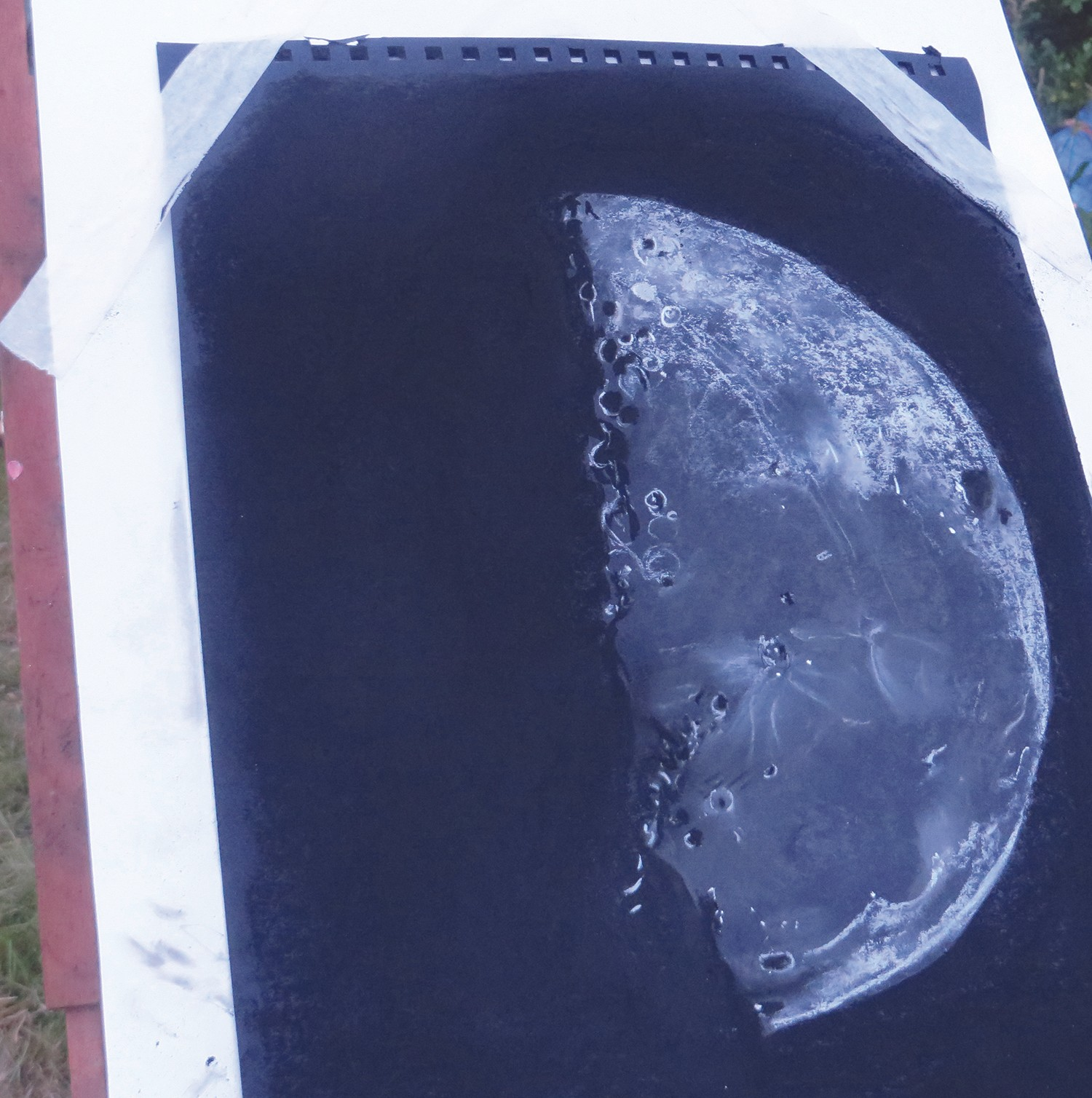 How to draw the Moon, step 6. Credit: Deirdre Kelleghan
