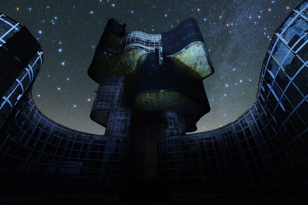 Croatia's Petrova gora-Biljeg is home to a war monument that's become a mecca for astronomers and astrophotographers. Credit: Boris Stromar