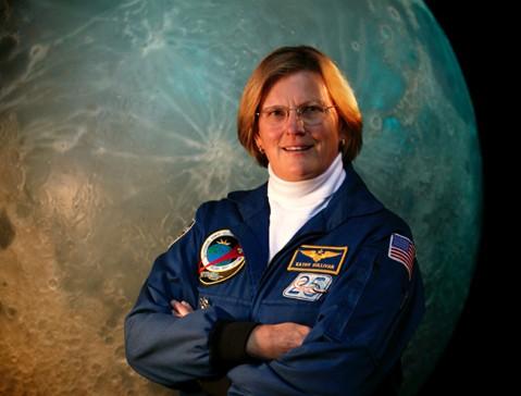 Former NASA astronaut Kathy Sullivan. Credit: Debbie Rowe