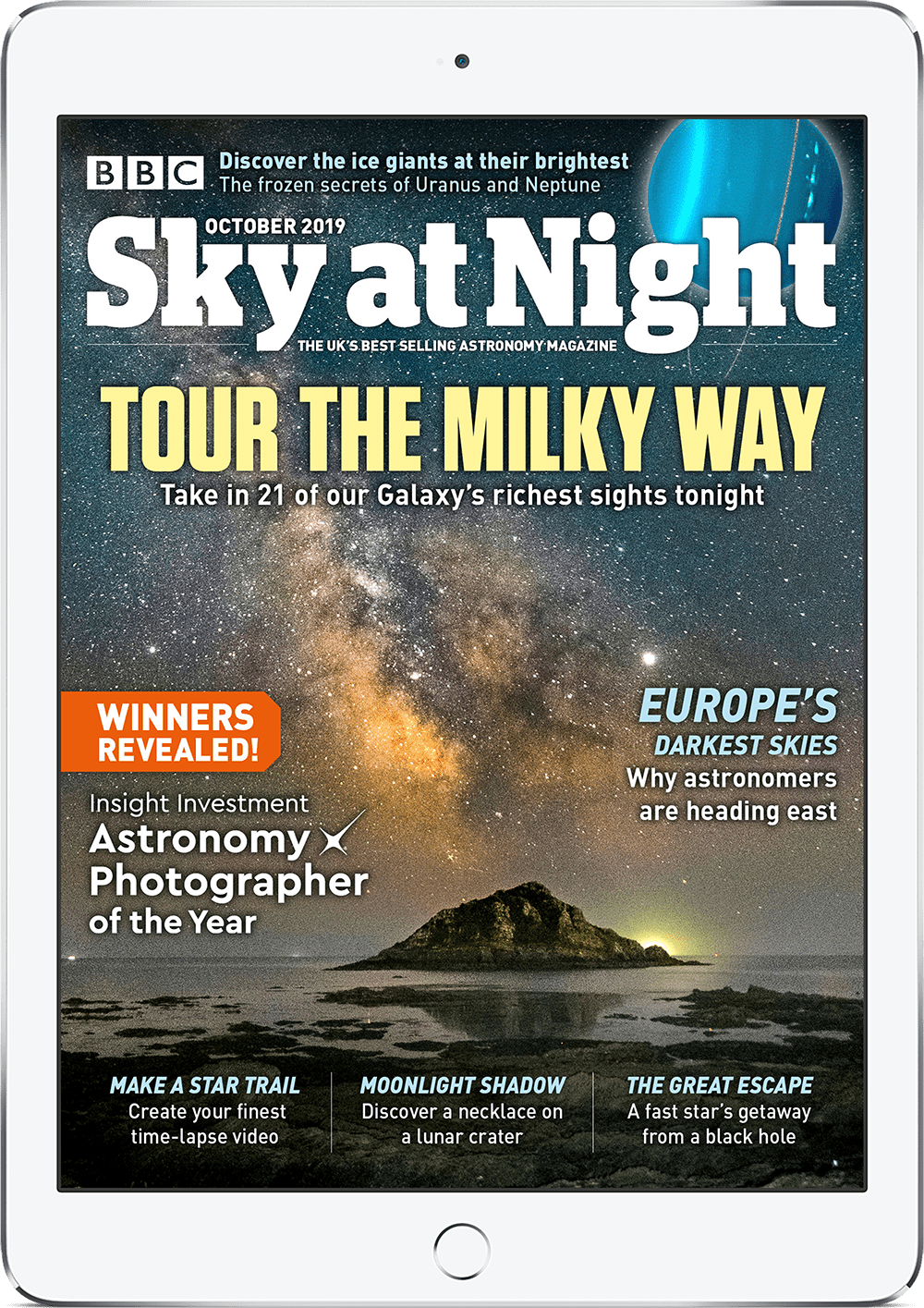 The October 2019 digital issue of BBC Sky at Night Magazine