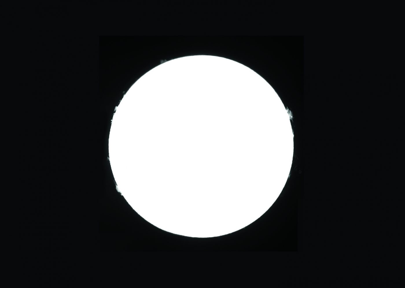 For the best results, you should align the prominence panes manually. Credit: Gary Palmer