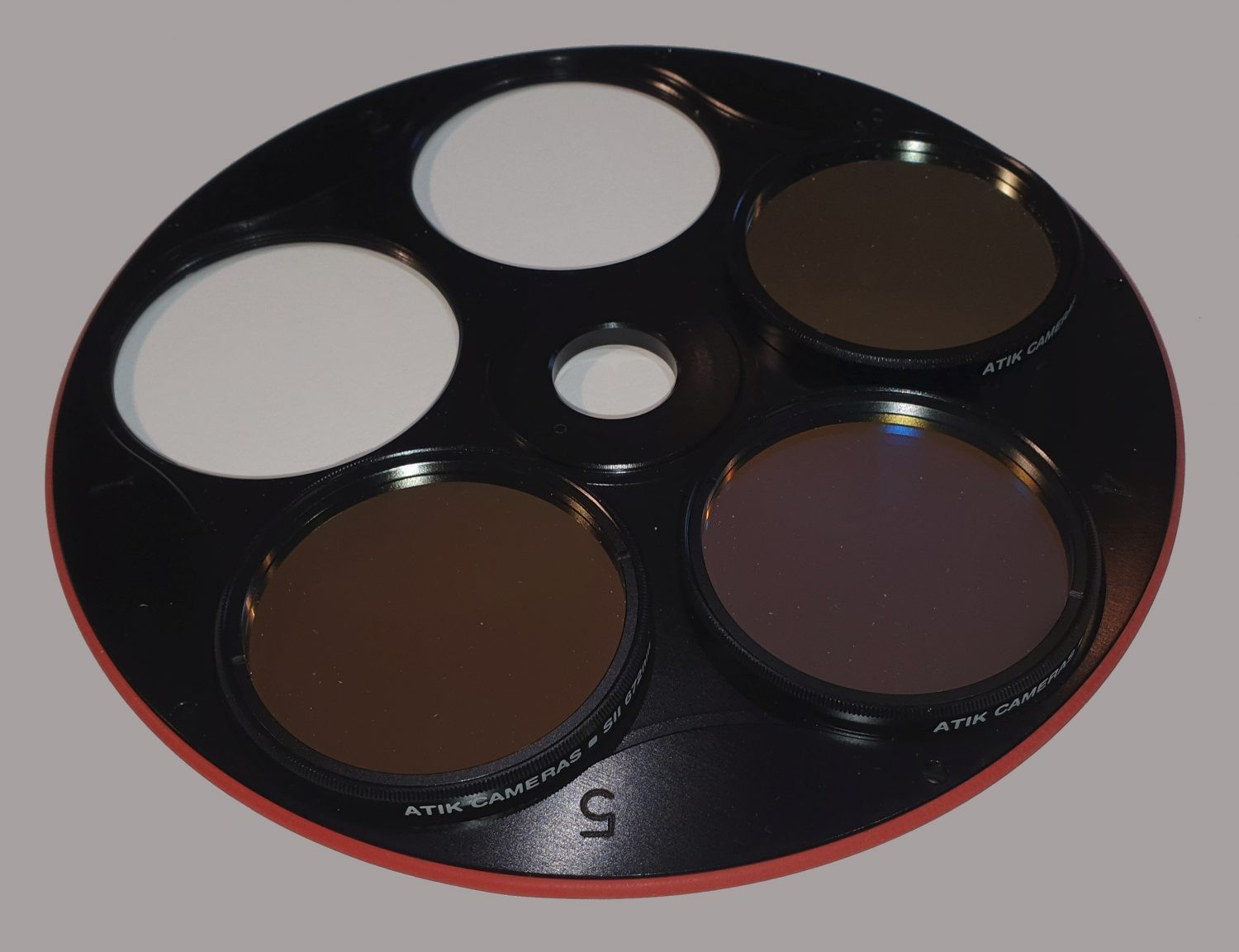 Atik Narrowband Filter Set in filter wheel