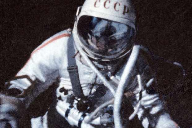 Alexei Leonov pictured during the Voskhod 2 mission that saw him become the first person to perform a spacewalk. Credit: Getty Images / SVF2 / Contributor