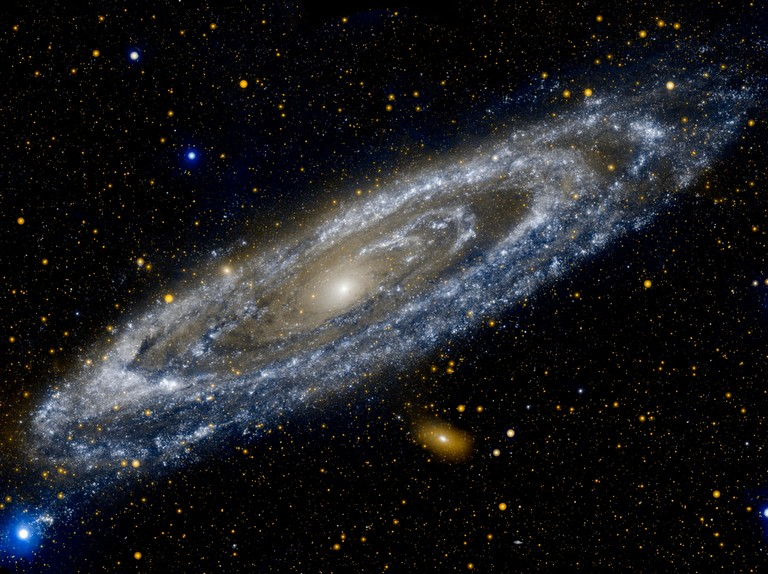 Andromeda Galaxy's last meal
