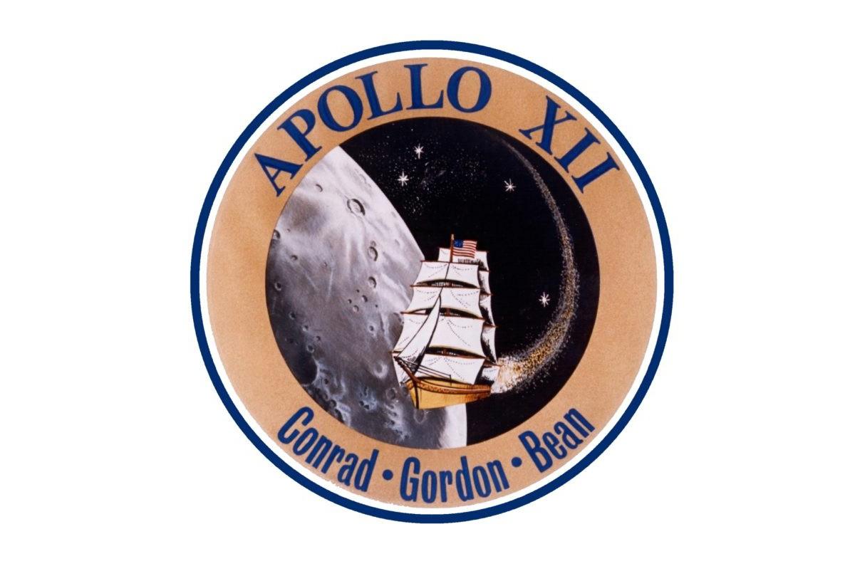 Apollo 12 mission patch. Credit: NASA