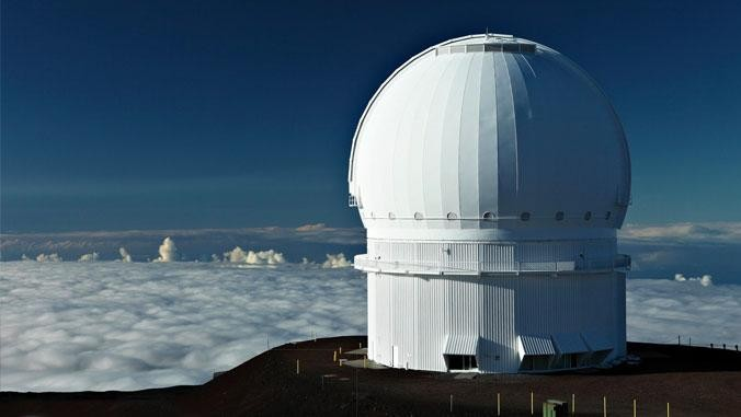 The Canada-France Hawaii Telescope, one of the observatories used in the study. Credit: Maunakea Observatories