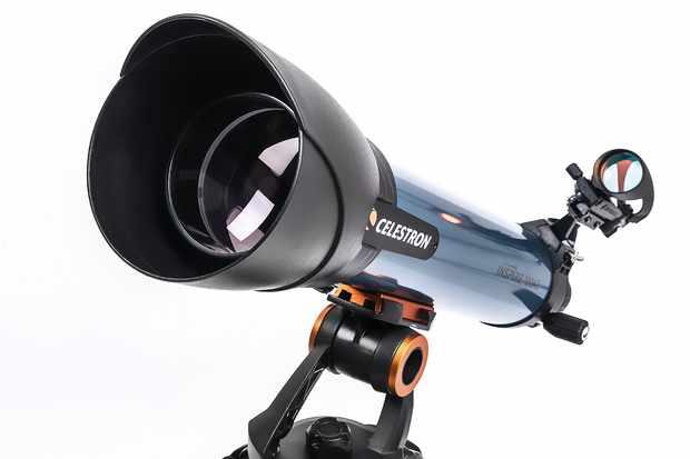 Celestron Inspire 100AZ refractor. Credit: BBC Sky at Night Magazine