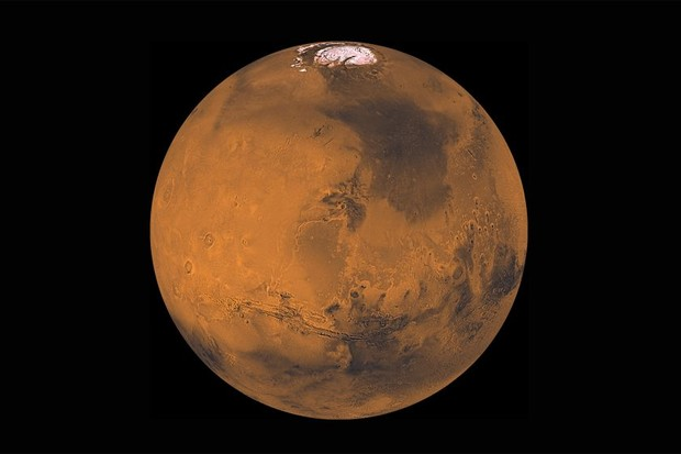 Viking image of Mars