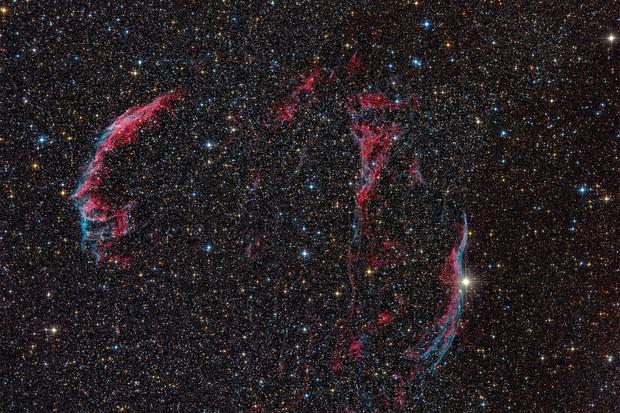 The Veil Nebula, Thomas Henne / CCDGuide.com